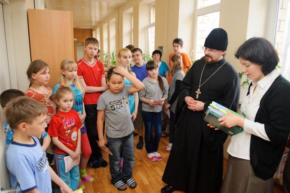 Пасхальный визит в Клинику детских болезней при медицинской академии им. И.М. Сеченова