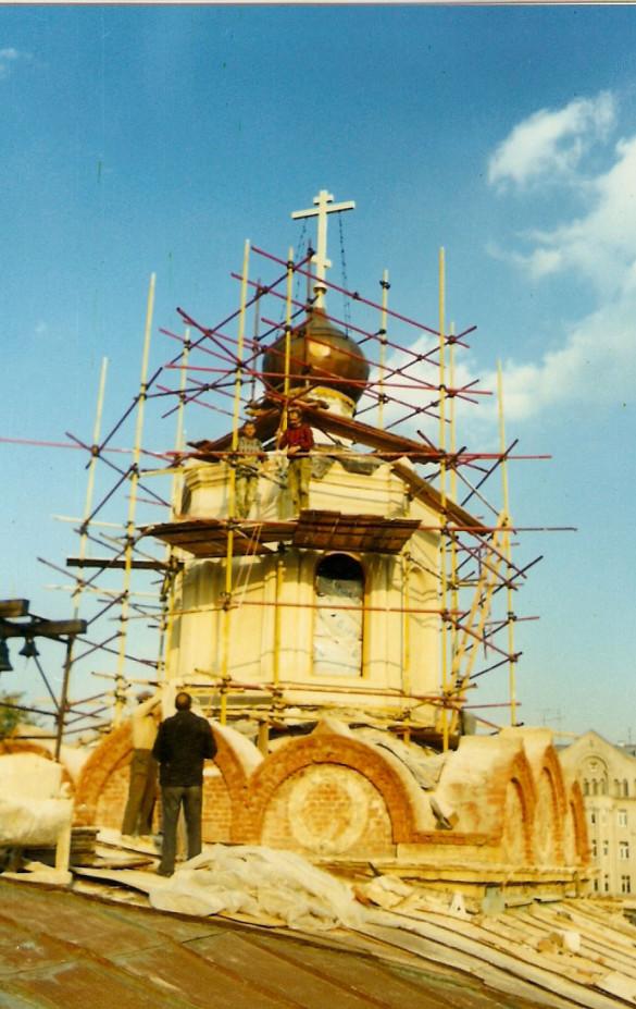 Фотоистория воссоздания храма