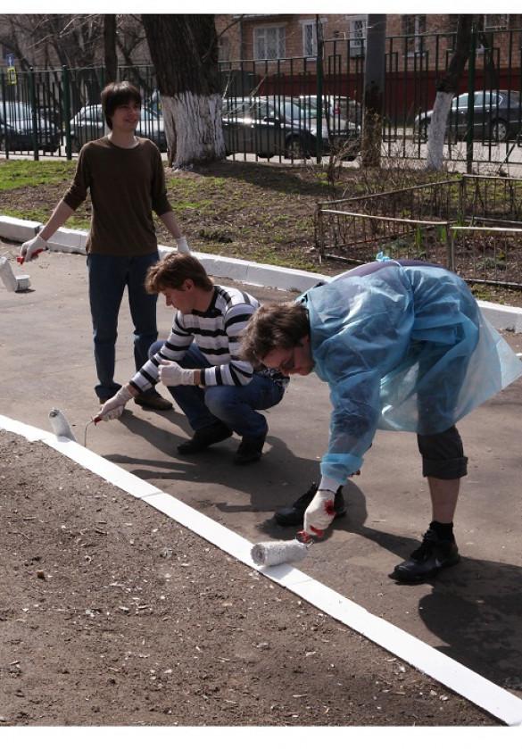 «Трудовой десант» в детскую клиническую больницу им. Сеченова