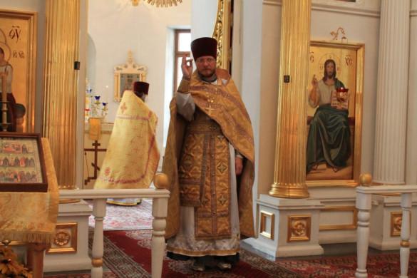 Настоятель нашего храма посетил приход г. Мосальска Калужской епархии