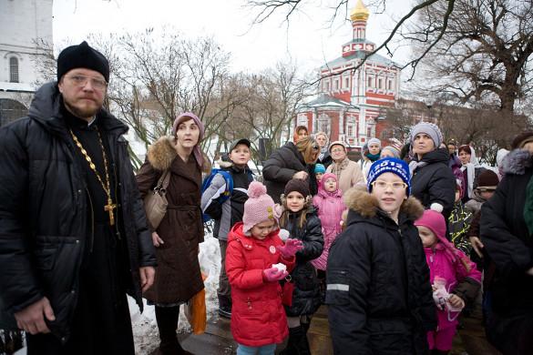 01.12.2012. Экскурсия в Новодевичий монастырь