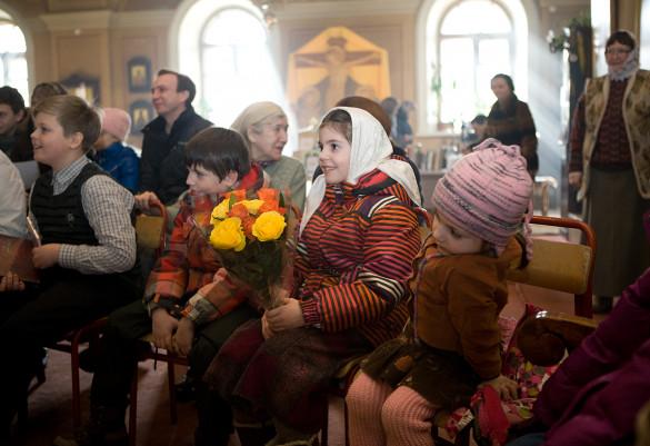 24.02.2013 в Воскресной школе прошли торжества в честь первого, пятилетнего юбилея