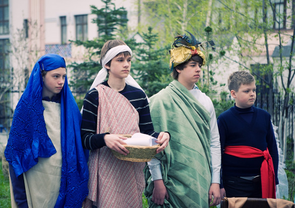 05.05.2013. Пасхальный спектакль.