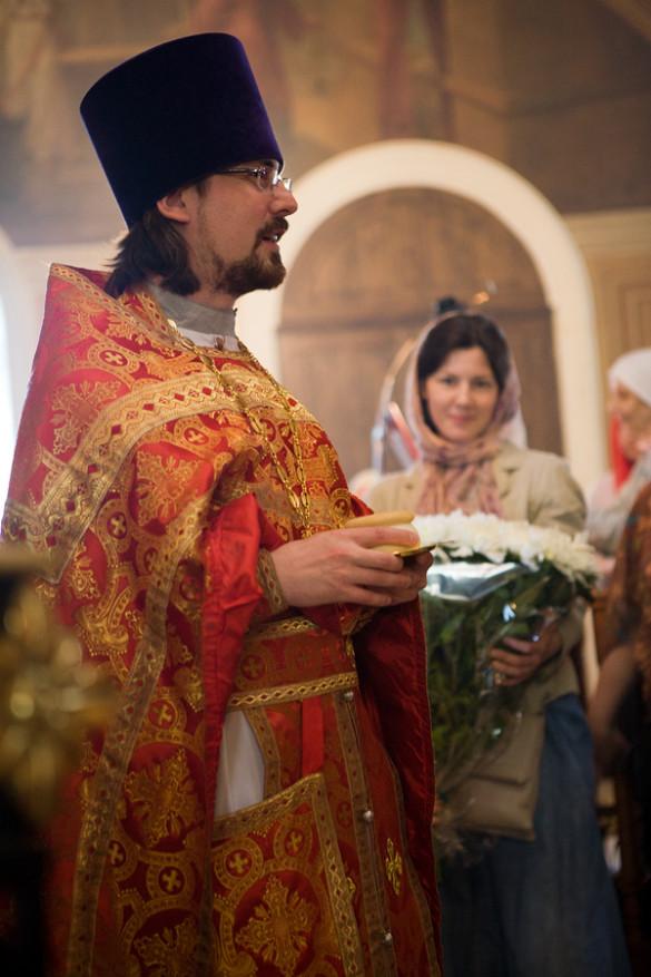 Иерей Димитрий Сорокин — и.о. настоятеля