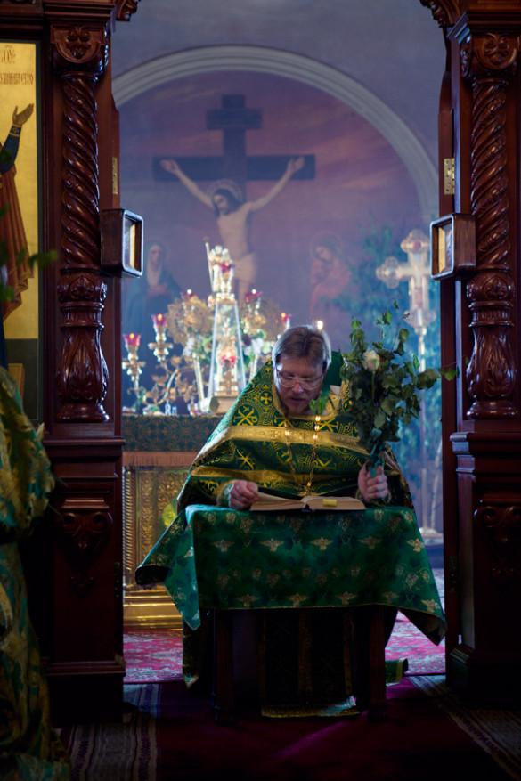 23.06.2013. День Святой Троицы. Божественная Литургия и вечерня