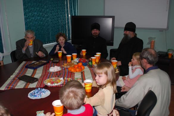 06.01.2014. Поздравление детей из Социального центра «Семья»