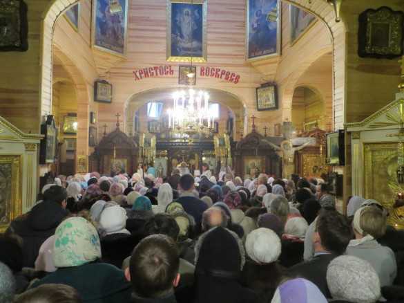 03.02.2014. Санкт-Петербург. День памяти отца Василия Ермакова
