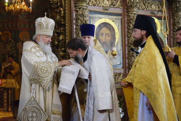 Диакон храма Вадим Твердов рукоположен во пресвитера! Аксиос!