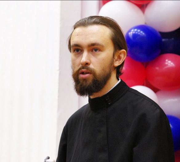 Диакон Сергий Уваров выступил на III Рождественских Образовательных Чтениях Центрального Викариатства