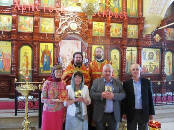 Венчание Владимира и Ирины Белокопытовых