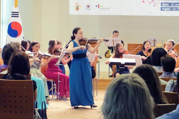 Концерт классической музыки в Корейском посольстве