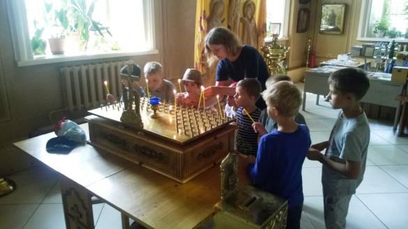 Детский центр у нас в гостях