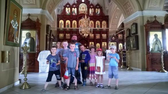 Состоялась экскурсия по храму для детей из Центра «Mini Bambini»