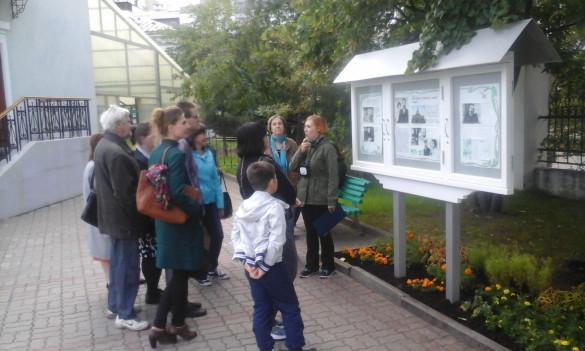 Чеховские экскурсии на территории храма