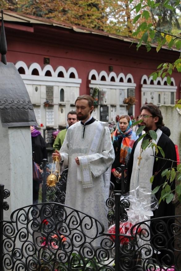 Панихида по А.П. Чехову и О.Л. Книппер