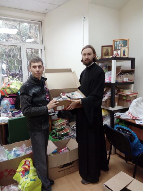 Наша община приняла участие в благотворительной акции «Уроки доброты»