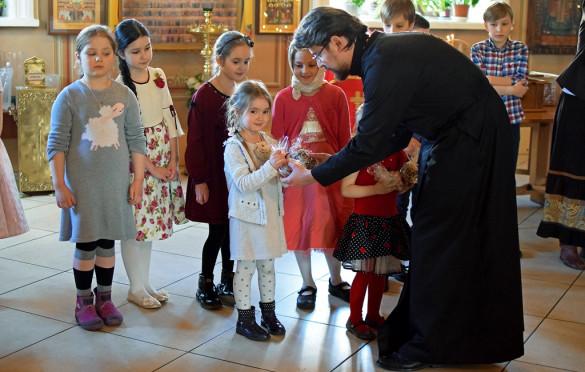 В детской Воскресной школе завершился учебный год