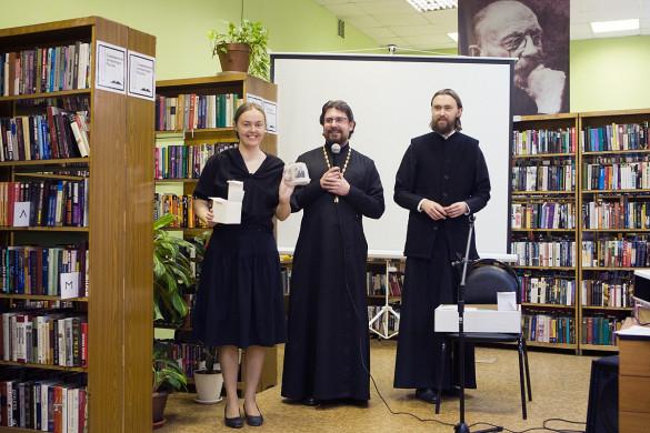В Библиотеке им. В.В. Вересаева состоялась творческая встреча, посвящённая 116-й годовщине венчания А.П. Чехова и О.Л. Книппер