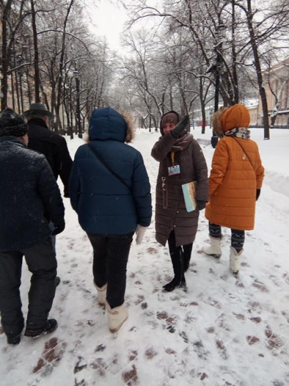 Группа прихожан совершила экскурсию по Никитскому и Тверскому бульварам