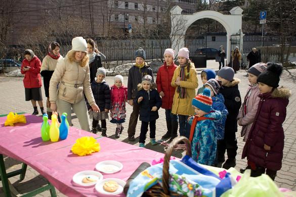 08.04.2018.Пасхальный детский праздник