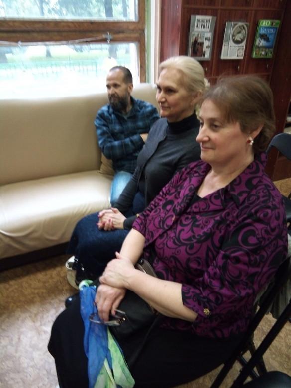 Посещение киноклуба «Обыкновенное чудо» при Библиотеке имени В.В. Вересаева района Хамовники