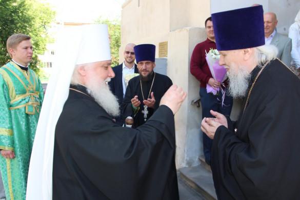 Управляющий Центральным викариатством г.Москвы митрополит Истринский АРСЕНИЙ молитвенно отметил день своего тезоименитства