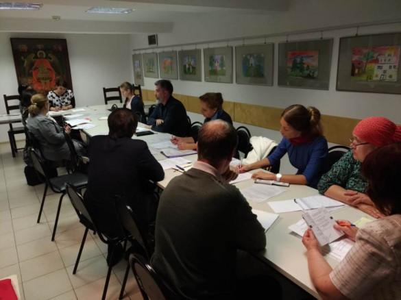 В Центральном благочинии прошло собрание Комиссии по социальному церковному служению