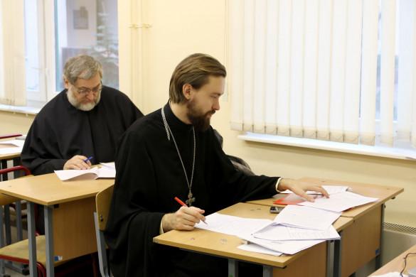 Клирик храма принял участие в работе жюри Олимпиады по «Основам православной культуры»
