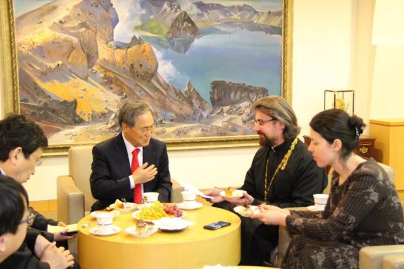 Приём в Посольстве Южной Кореи