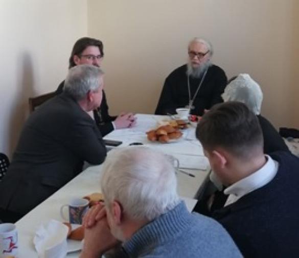16 февраля 2019 г. состоялось заседание Приходского собрания