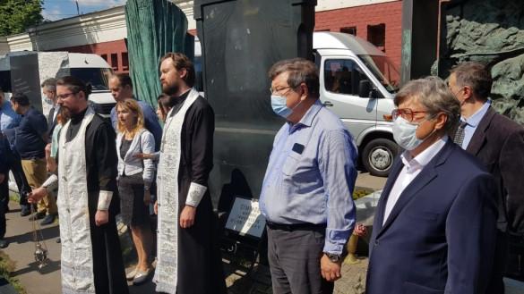 Состоялась панихида по академику Б.В Петровскому на Новодевичьем кладбище