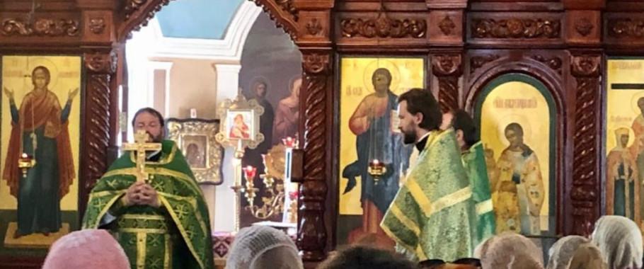 18.07.2021. Поздравляем настоятеля нашего храма иерея Сергия Куксова с днём святых именин!