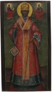 Образ святителя Николая, архиепископа Мир Ликийских ,чудотворца
