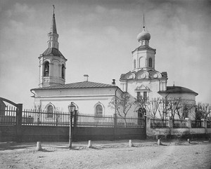 Фотография храма, 1882 год